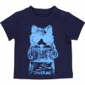 T-shirt coton boutons pression TIMBERLAND pour GARCON