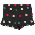 Short lainage à pois BILLIEBLUSH pour FILLE