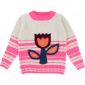 Pull tricot broderie BILLIEBLUSH pour FILLE