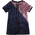 Robe bicolore en sequins LITTLE MARC JACOBS pour FILLE
