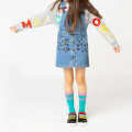 Robe salopette en denim THE MARC JACOBS pour FILLE
