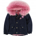 Parka à capuche LITTLE MARC JACOBS pour FILLE