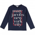 T-shirt illustration logo LITTLE MARC JACOBS pour GARCON