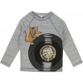 T-shirt illustration fantaisie LITTLE MARC JACOBS pour GARCON