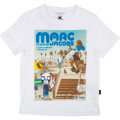 T-shirt jersey coton THE MARC JACOBS pour GARCON