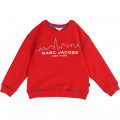Sweat-shirt en molleton gratté THE MARC JACOBS pour GARCON