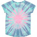 T-shirt effet tie and dye ZADIG & VOLTAIRE pour FILLE