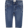 Pantalon en denim stretch CARREMENT BEAU pour FILLE