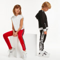 Baskets basses en cuir KARL LAGERFELD KIDS pour FILLE