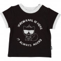 TEE-SHIRT KARL LAGERFELD KIDS pour UNISEXE