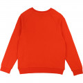 SWEAT RAGLAN KARL LAGERFELD KIDS pour FILLE