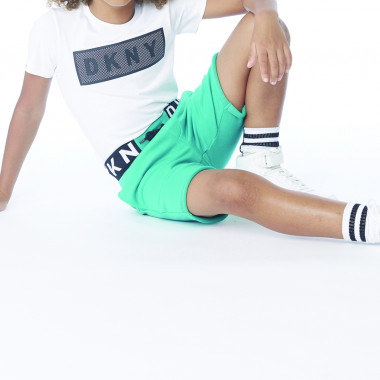 T-shirt with net detail DKNY for BOY