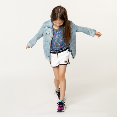 Multicoloured lace-up trainers DKNY for GIRL