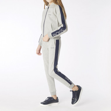 Cotton jogging jacket BOSS for GIRL