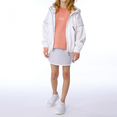 Waterproof hooded windbreaker BOSS for GIRL
