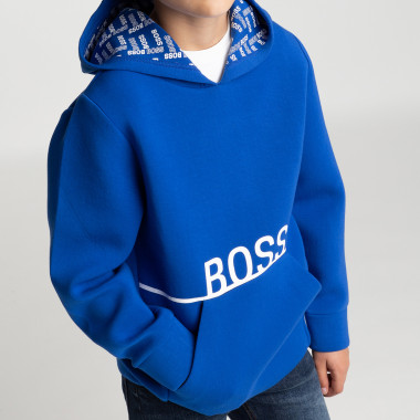 Hooded logo sweatshirt BOSS for BOY