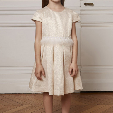Gold party dress CHARABIA for GIRL