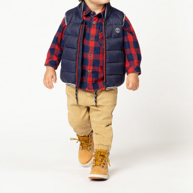 PUFFER JACKET SLEEVELESS TIMBERLAND for BOY
