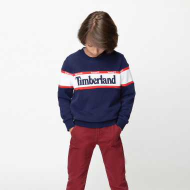 Suede fleece jumper TIMBERLAND for BOY