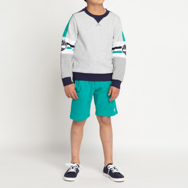 Multicolour fleece sweatshirt TIMBERLAND for BOY