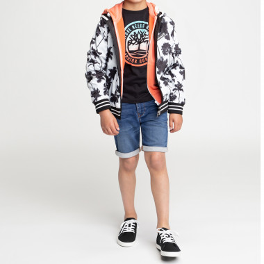 Reversible coated windbreaker TIMBERLAND for BOY