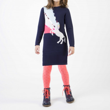 Polka-dotted knit tights BILLIEBLUSH for GIRL