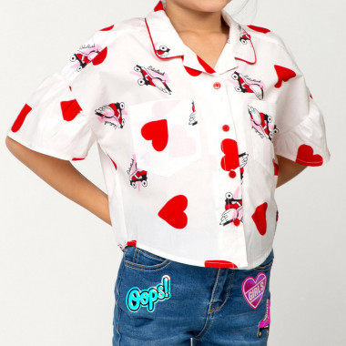 Jeans with novelty patches BILLIEBLUSH for GIRL