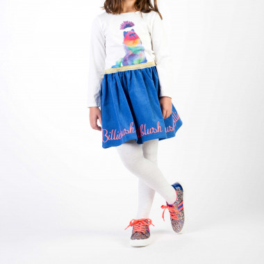 Sequined cotton jersey t-shirt BILLIEBLUSH for GIRL