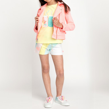 Short twill bomber jacket BILLIEBLUSH for GIRL