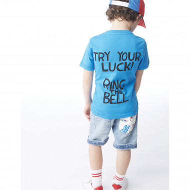 Novelty denim Bermuda shorts LITTLE MARC JACOBS for BOY