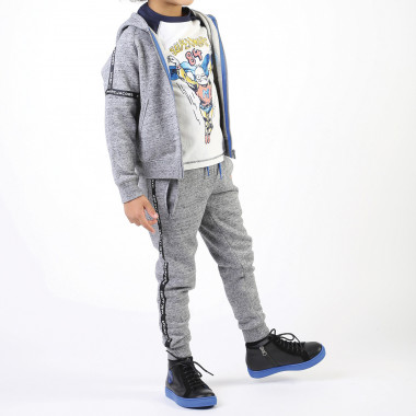 Jogging jacket with arm strips LITTLE MARC JACOBS for BOY