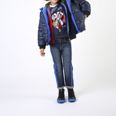 Reversible hooded jacket LITTLE MARC JACOBS for BOY