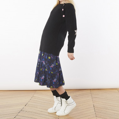 Long decorative patch jumper ZADIG & VOLTAIRE for GIRL