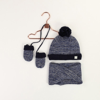 Hat and mittens set CARREMENT BEAU for BOY