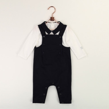Dungaree and T-shirt set CARREMENT BEAU for BOY