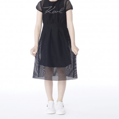 Two-in-one dress KARL LAGERFELD KIDS for GIRL
