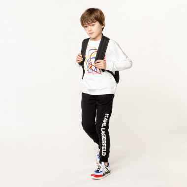 Embroidered sweatshirt KARL LAGERFELD KIDS for BOY