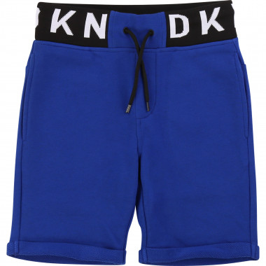 Shorts with jacquard waistband DKNY for BOY