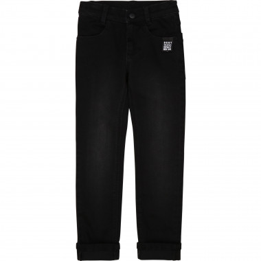 Cotton denim trousers DKNY for BOY
