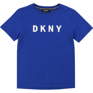 Printed T-shirt 100% Cotton DKNY for BOY