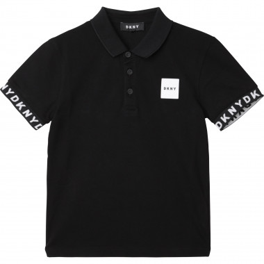 Cotton piqué polo DKNY for BOY