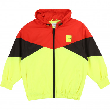 Hooded windproof jacket DKNY for BOY