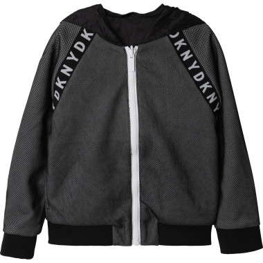 Reversible hooded jacket DKNY for BOY