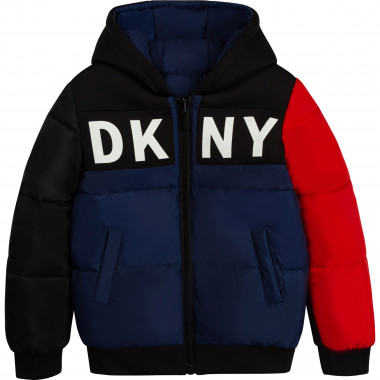 Reversible hooded puffer jacket DKNY for BOY