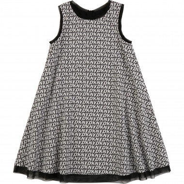 Flared sleeveless dress DKNY for GIRL