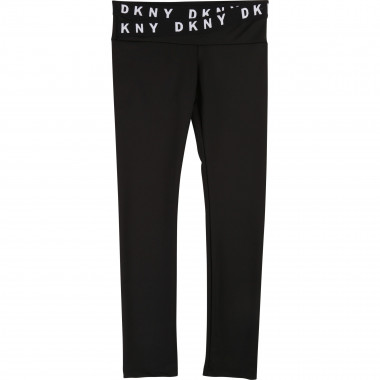 Stretch jersey leggings DKNY for GIRL