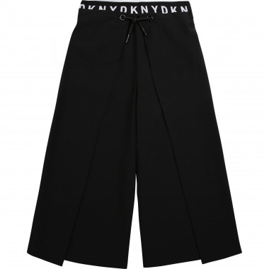 Wide trousers with tied panels DKNY for GIRL