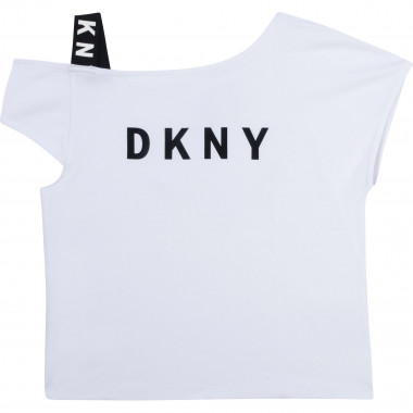 T-shirt with elasticated strap DKNY for GIRL