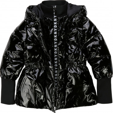 Coated waterproof jacket DKNY for GIRL