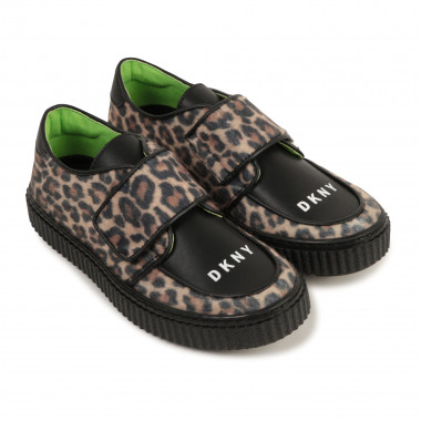 Printed faux leather derbies DKNY for GIRL